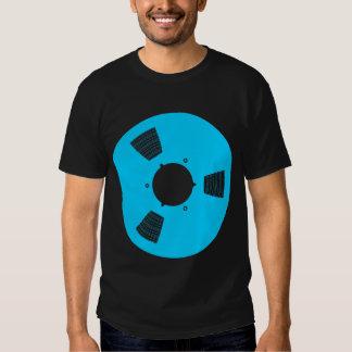 Carrete de cinta de grabación camisas