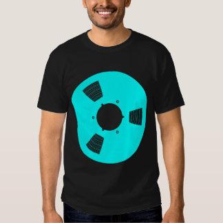 Carrete de cinta de grabación camiseta