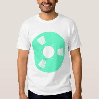 Carrete de cinta de grabación camisetas