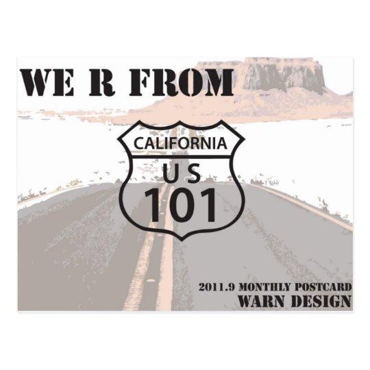 Carretera 101 postal
