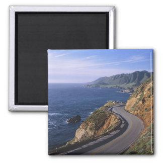 Carretera 1 a lo largo de la costa de California c Imán
