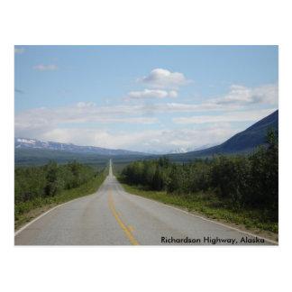 Carretera de Richardson, Alaska Postal