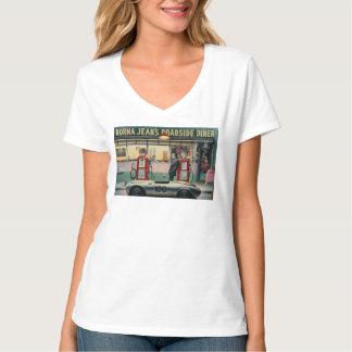 Carretera del destino camisetas