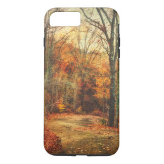 Carretera nacional del resplandor del otoño funda iPhone 7 plus