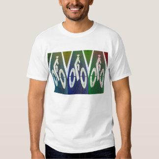 Carril de la bici de Chinatown Camisetas