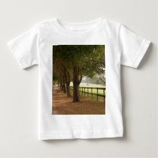 Carril del caballo camiseta de bebé