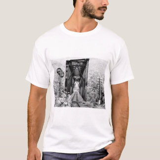 Carriles del pasado camiseta