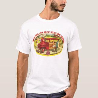Carro arbolado de Willys 1946 Camiseta