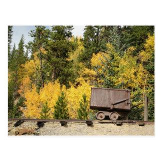 carro breckenridge del mineral tarjetas postales