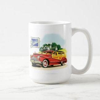 Carro de Buick Woody Taza De Café