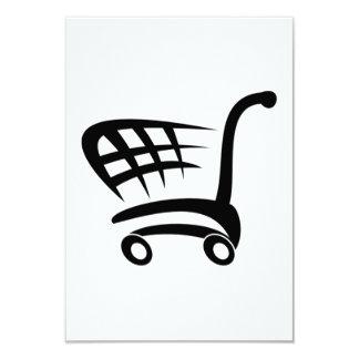 Carro de la compra invitación 8,9 x 12,7 cm