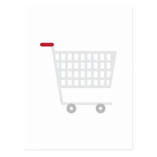 Carro de la compra postal