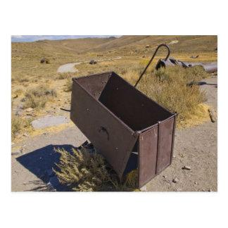 Carro de la explotación minera de Bodie Postales