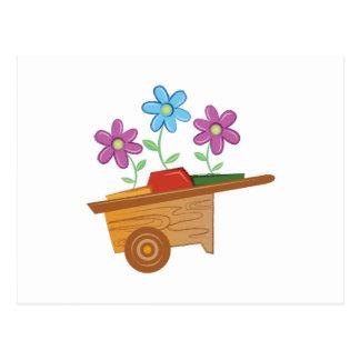 Carro de la flor postal