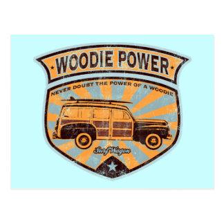 Carro de Woodie Postal