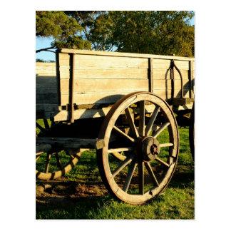 Carro del caballo postal