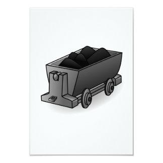 Carro del carbón anuncio personalizado
