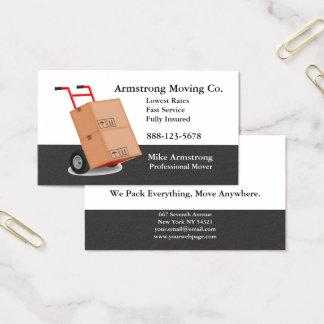Carro del carro del motor de la compañía móvil tarjeta de visita