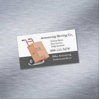 Carro del carro del motor de la compañía móvil tarjeta de visita magnética