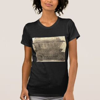 Carro del gitano del vintage camiseta