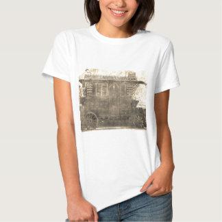 Carro del gitano del vintage camisetas
