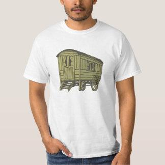 Carro gitano de la caravana camiseta