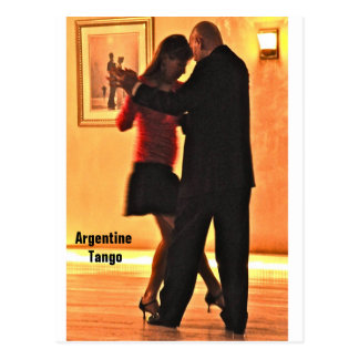 Carruaje del tango postal