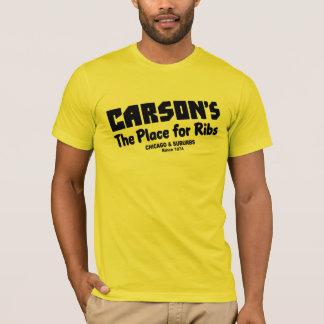 Carson, el lugar para las costillas, Chicago y Camiseta
