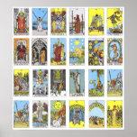 Carta de tarot posters