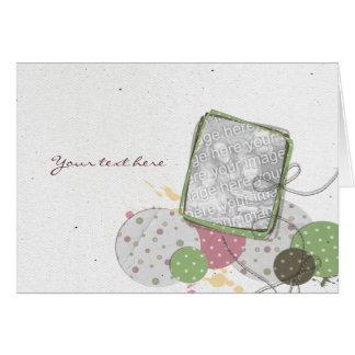 Carta de voeux tarjeta de felicitación