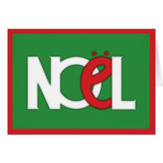 Carta verde de NOEL Tarjeton
