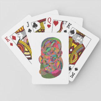 Cartas de Poker con Diseño de Abstract Ink
