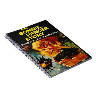 Cartel de película 1958 del crimen cuaderno