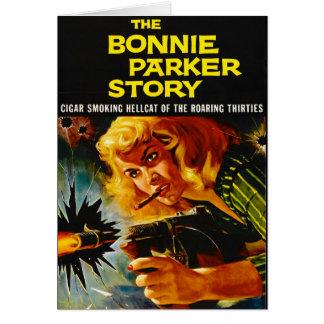 Cartel de película 1958 del crimen tarjeta