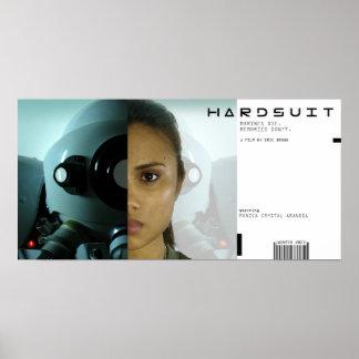 Cartel de película de Hardsuit Póster