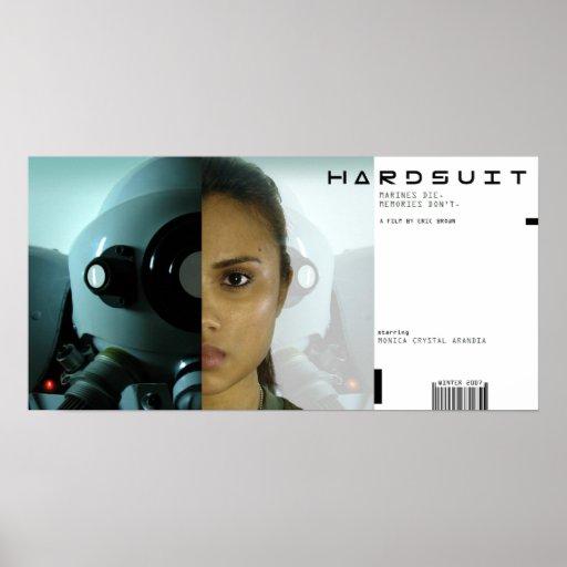 Cartel de película de Hardsuit Posters