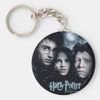 Cartel de película de Harry Potter Llavero Redondo Tipo Chapa