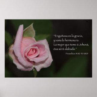 Cártel del 31:30 de Proverbios Impresiones