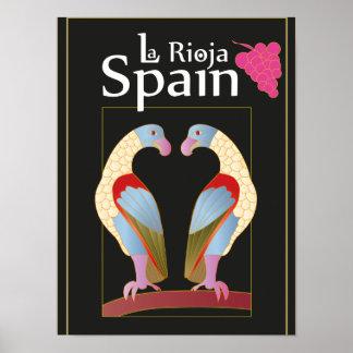 Cartel La Rioja Póster