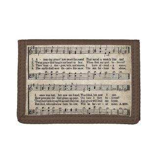 Cartera asombrosa de la partitura del himno del