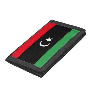 Cartera De 3 Hojas Bandera de Libia