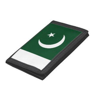 Cartera De 3 Hojas Bandera de Paquistán