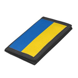 Cartera De 3 Hojas Bandera de Ucrania