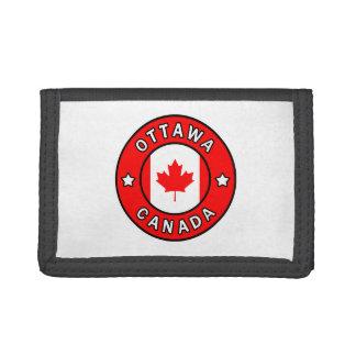 Cartera De 3 Hojas Ottawa Canadá