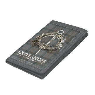 Cartera De 3 Hojas Outlander el | la broche del clan de MacKenzie