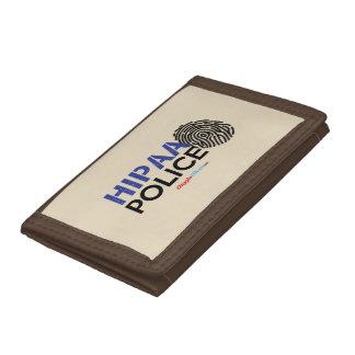 Cartera De 3 Hojas Policía de HIPAA
