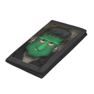 Cartera De 3 Hojas Traje divertido de Frankenstein Halloween