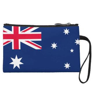 Cartera de los mitones de la bandera de Australia