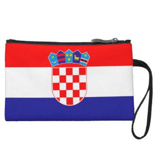 Cartera de los mitones de la bandera de Croacia