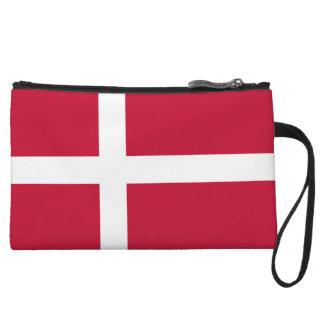 Cartera de los mitones de la bandera de Dinamarca